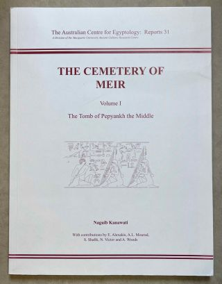 The cemetery of Meir. Vol. I: The tomb of Pepyankh the Middle. Vol. II: The tomb of Pepyankh the...[newline]M8137a-00.jpeg