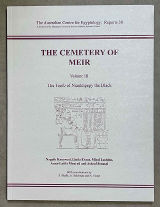 The cemetery of Meir. Vol. I: The tomb of Pepyankh the Middle. Vol. II: The tomb of Pepyankh the Black. Vol. III: The tomb of Niankhpepy the Black. Vol. IV: The tomb of Senbi I and Wekhhotep I (complete set)[newline]M8137a-16.jpeg