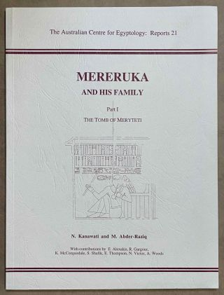 Mereruka and his family. Part I: The tomb of Meryteti. Part II: The tomb of Waatetkhethor. Part...[newline]M8142-00.jpeg